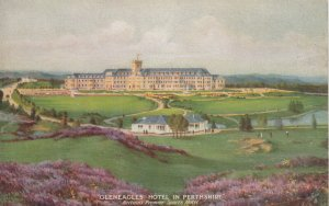 SCOTLAND, 1920-30s; Gleneagles Hotel in Perthshire, TUCK