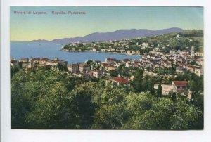 425736 ITALY Riviera de Levante Rapallo general view Vintage postcard