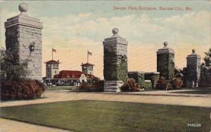 Missouri Kansas City Swope Park Entrance