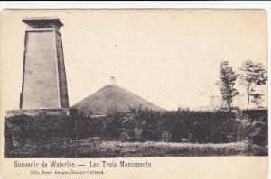 Belgium Waterloo Les Trois Monuments