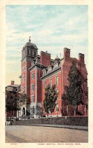 South Boston Massachusetts~Carney Hospital~Dirt Road~Retaining Wall~1908 PC