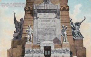 Indiana Indianapolis Soldiers & Sailors Monument Showing Tablet