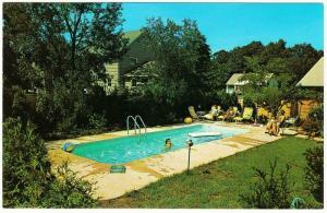 Advertising Postcard for American Prestige Fiberglas Swimming Pool 1950s-1960s