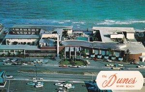 MIAMI BEACH, Florida, PU-1962; The Dunes, Bird's Eye View, Classic Cars