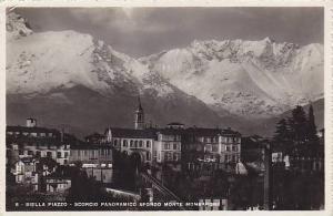 RP, Scorcio Panoramico Sfondo Monte Mombarone, Biella Piazzo, Piedmont, Italy...