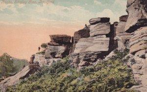 BRADFORD, England, 1900-1910's; Shpley Glen, Rocks