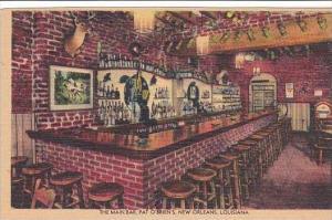Louisiana New Orleans Pat O'Briens Main Bar