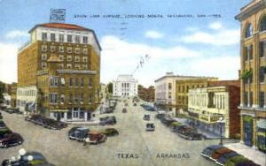 State Line Avenue Texarkana TX 1949