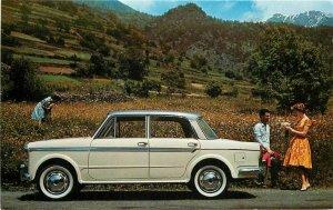 Advertising Auto Dealer Italian RPPC Photo Postcard Non Postcard Back 20-1249
