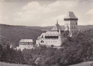 Czech Republic Statni hrad Karlstein Real Photo