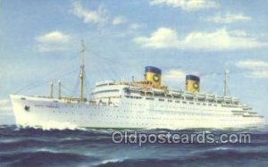 SS Queen Frederica National Hellenic Line, Steamer, Steam Boat, Ship Unused