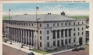 Post Office & Court House , Muskogee , Oklahoma , PU-1942