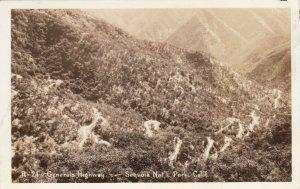 SEQUOIA National Park, California, 1920-40s; Generals Highway