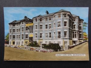 Dorset BOURNEMOUTH - Solent Cliffs Hotel - Old Postcard