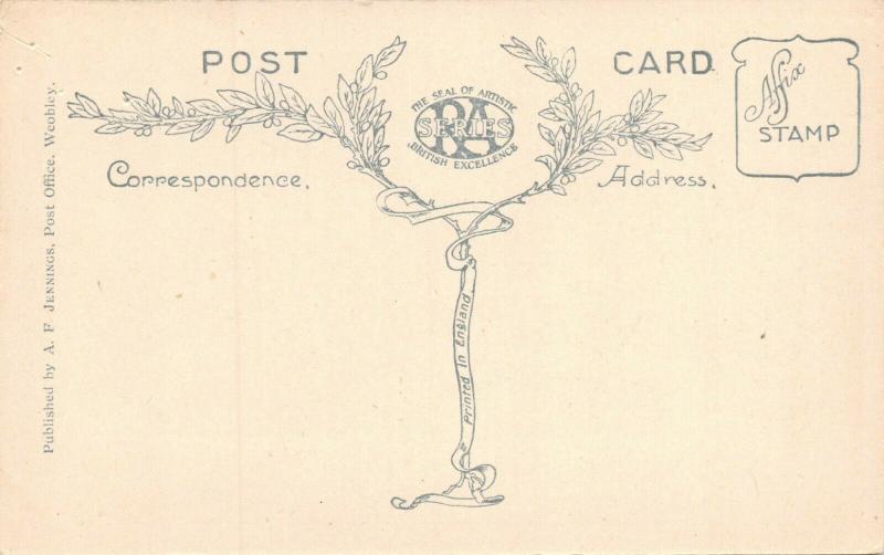 WEOBLY HEREFORDSHIRE ENGLAND~THE DOCKS~A F JENNINGS PUBLISHED PHOTO POSTCARD
