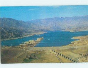 Pre-1980 AERIAL VIEW Lake Isabella - Near Bakersfield & Kernville CA AC9739