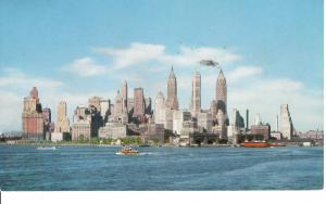 US   PC2080 SKYLINE OF MANHATTAN, NEW YORK CITY
