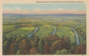 WOODSTOCK, Virginia , 30-40s ; Seven Bends of the Shenandoah