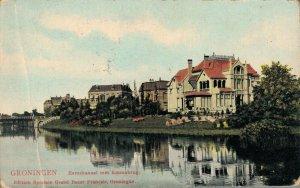 Netherlands Groningen Eemskanaal met Emmabrug 03.32