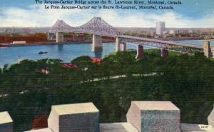 Canada - Quebec, Montreal. Jacques Cartier Bridge