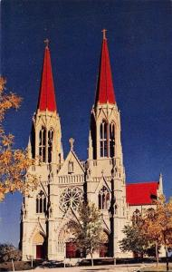 HELENA, MT  Montana      ST HELENA CATHEDRAL CHURCH-Gothic Style    Postcard