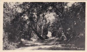 Near MELVILLE , Saskatchewan , Canada , 1910s; A Pretty Drive
