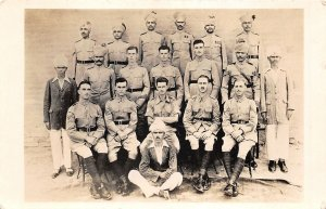 Lot148 peshawar pakistan real photo soldier  military british army