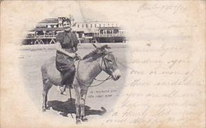 New Jersey Atlantic City Her First Ride1904