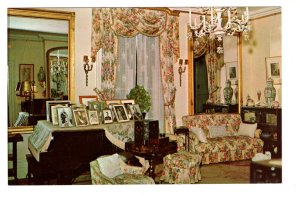 Home of Franklin Roosevelt, Dresden Room, Piano, Hyde Park, New York