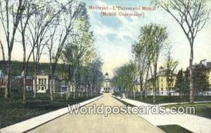 Montreal Canada, du Canada L'Universit McGill, McGill University  L'Universit...