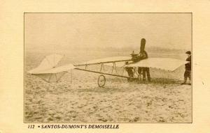 Aviation - Santos Dumont De Moiselle