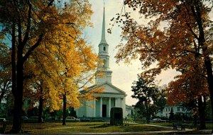 Massachusetts Bradford First Church Of Christ Congregational 1961