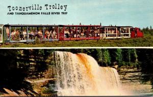 Michigan Soo Junction Toonerville Trolley and Tahquamenon Falls River Trip