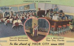 YBOR CITY , Florida , 1930-40s ; Las Novedades Spanish Restaurant