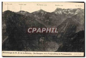 Postcard Old Pilgrimage of Our Lady of La Salette From Gargas to Valjouffrey ...
