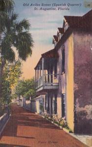 Florida Saint Augusttine Old Aviles Street