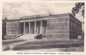 Maine Hebron Sargent Memorial Church Gymnasium Hebron Academy Albertype
