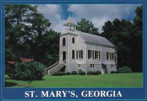 Georgia St Mary's Presbyterian Church Built 1808 2000