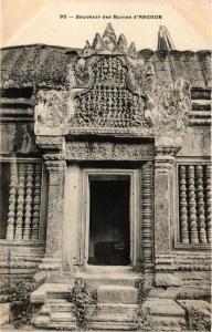 CPA CAMBODIA Souvenir des Ruines d'Angkor (256815)