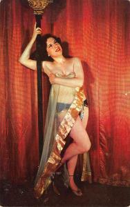 Philadelphia PA LUCREZIA BORGIA Stripper Postcard