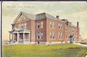 OLD LADIES HOME ... View shows building from across the lawn, late 1900s