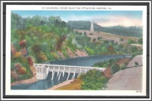 Virginia, Radford Municipal Power Plant on Little River - [VA-169]