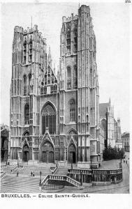 Belgium Bruxelles Eglise Sainte Gudule 01.44