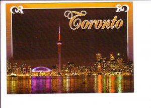 Skyline at Night, Toronto, Ontario,