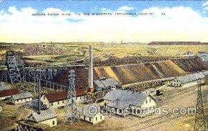 Mesaba Range Mine, Minnesota, USA, Arrowhead Country, Mining Postcard Postcar...