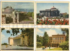 128942 Ukraine ODESSA Collection of 11 old Postcards