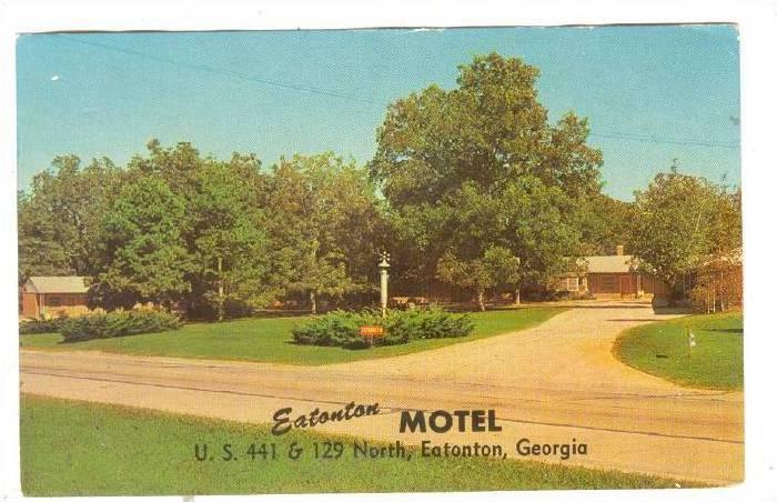 Eatonton Motel,Eatonton, Georgia, PU-40-60s