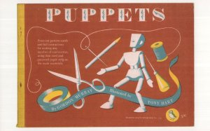 Puppets Gordon Murray 1958 Puffin Book POstcard