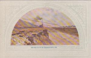 Illinois Chicago The Rock Cut In The Drainage Canal Circa 1899 Mural Central ...