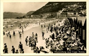 South Africa - Cape Town. Muizenberg.   *RPPC